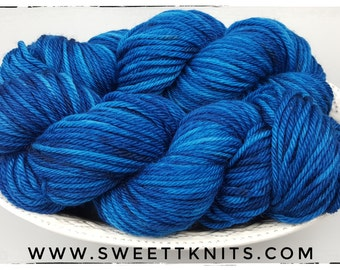Father Figure, bulky, Hand Dyed Yarn