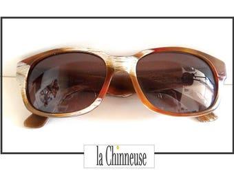 ALAIN MIKLI Vintage SUNGLASSES / Alain Mikli sunglasses / french Vintage Sunglasses 80's.