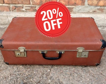 Cardboard suitcase | Etsy