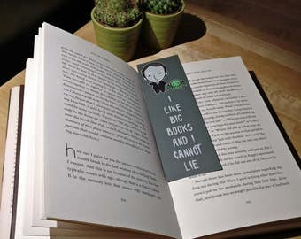 H.P Lovecraft and Friend Bookmark - Cthulhu Bookmark - Book lover gift - reading - books - Lovecraft Bookmark - Scifi Gift - Geek Gift