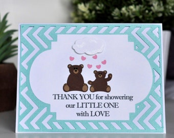 Baby Bear 'Thank You' Cards - 10 pack