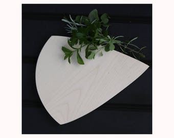 Solid Sycamore Cheese shaped Cheese Board FREE SHIPPING