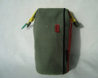 Wire Frame Pouch, Metal Frame Pouch, Pencil case, Glasses case,
