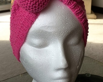 Ladies earwarmer headband