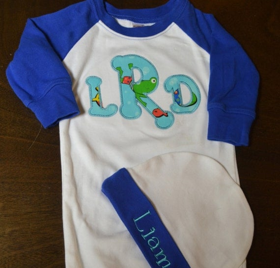 Personalized Baby Boy Going Home Outfit Baby Boy Clothes
