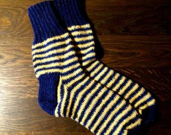 Handmade man socks
