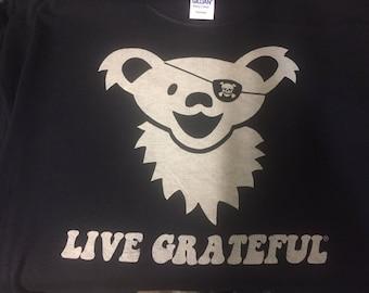 Live Grateful Pirate shirt