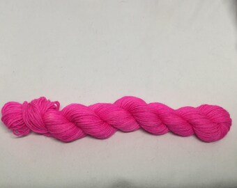 Hot Pink sock mini