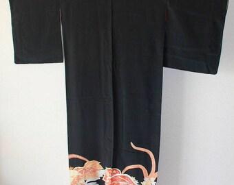 Black TOMESODE Dress 007