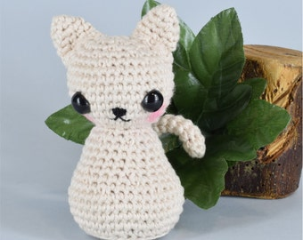Cat, kitty, crochet cat, stuffed cat, amigurumi pattern, amigurumi, crochet amigurumi, amigurumi cat, pattern, kawaii, diy