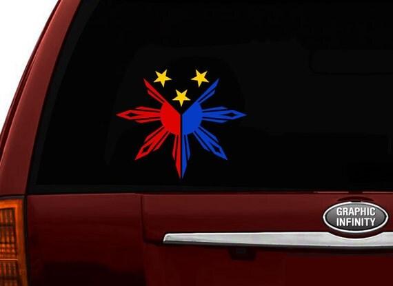 Filipino Vinyl Car Decal Sticker  Create No Philippine - Car sticker decals philippines