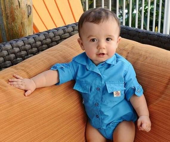 Bullred Baby Onesies-Fishing Shirt-Baby Fishing Shirt-PFG