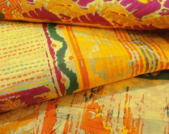 """Indian Decorative Cotton Fabric For Sewing Designer Dressmaking Fabric Pure Cotton Multicolor 41"""" Wide Sewing Craft Fabric By 1 Yard ZBC6744"""