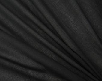 """Black Fabric, Upholstery Fabric, Quilt Material, Dress Fabric, Sewing Crafts, 43"""" Inch Cotton Fabric By The Yard ZBC7560P"""