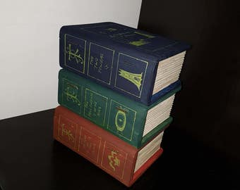 Set of 3 Lord of the Rings book boxes