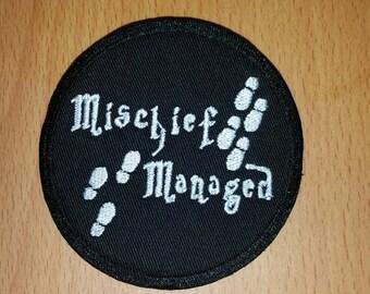 Mischief managed 3x3 patch