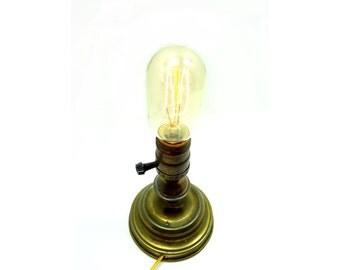 Steampunk Light - Industrial Lighting - Edison Bulb - Steam Punk Lamp
