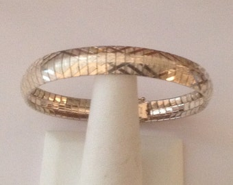 Sterling Silver MILOR Italian Bracelet