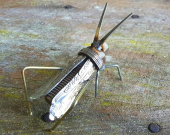 Upcycled Flatware Cricket
