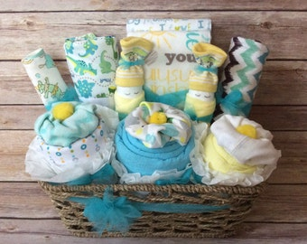 Baby Gift Basket, Baby Shower Gift, Baby boy gift, Baby shower gift, baby girl gift, Infant hamper