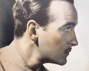 David Niven Vintage Sepia 6x8 Photographic Print