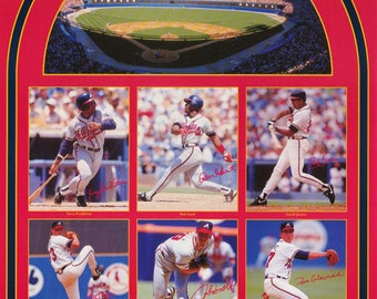 Atlanta Braves All Stars 1992 Poster