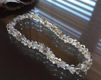 Herkimer Diamond Bracelet, Herkimer Bracelet