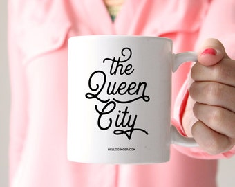 Queen City Coffee Mug | Charlotte, North Carolina Coffee Mug