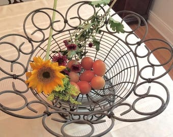 Country French Style Wire Basket