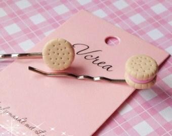 Cookie Hair Pins