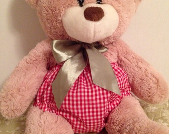 Red Gingham Baby Bloomers