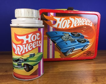 Hot Wheels Lunch Box with Thermos
