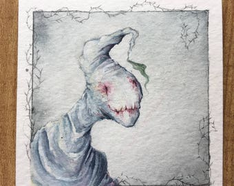 Skinny Oogie Boogie - 3x3 Illustration- FREE SHIPPING within CANADA