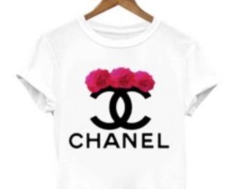 Chanel Shirt Etsy