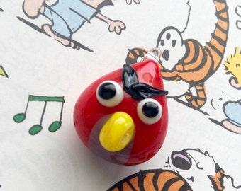 Angry Birds Glass Bead