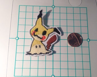 Pokemon Mimikyu Iron On Embriodery Patch