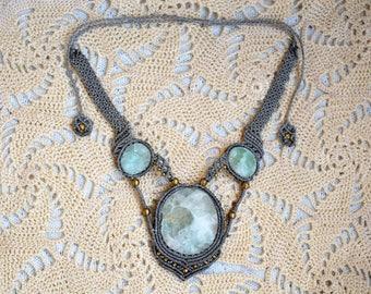 ॐ Shamanic Fluorite Necklace ॐ