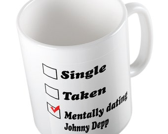 Mentally dating Johnny Depp youtube mug