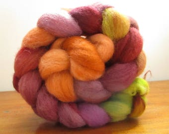 Strand of wool dyed spinning 96 gr