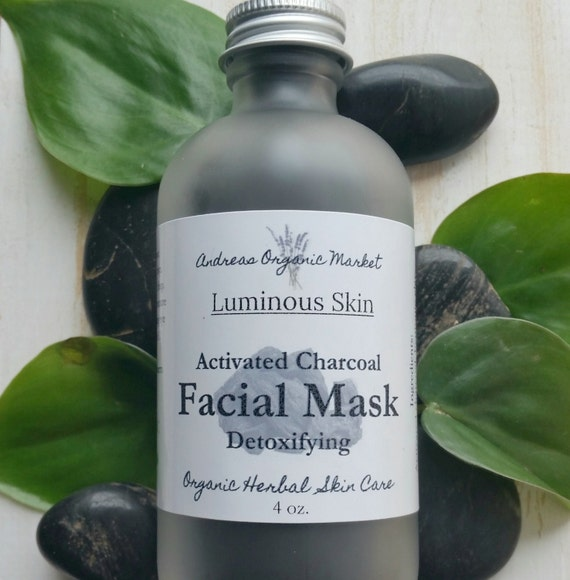organic activated charcoal facial mask by andreasorganicmarket. Black Bedroom Furniture Sets. Home Design Ideas