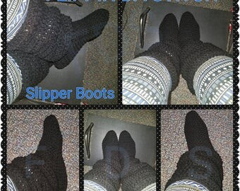 Super Slouchy Slipper Boots