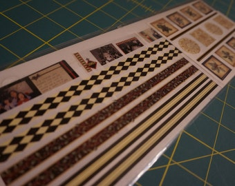 Creative Memories Holiday Fanciful Trimmings Great Lengths Stickers