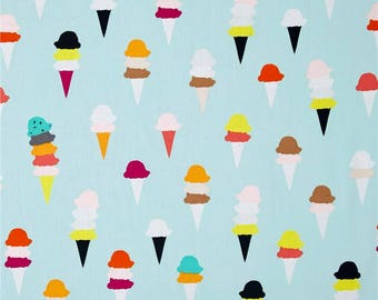 LOW STOCK - Boardwalk Delight - I Scream, You Scream - Art Gallery Fabrics - Dana Willard - 100% Premium Cotton Fabric - BWD-780 - Ice Cream