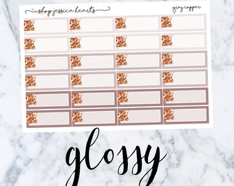 Gray Copper (GLOSSY) Glitter Appt Boxes