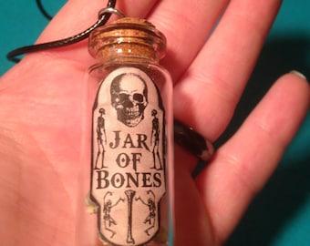 Jar of Bones Necklace