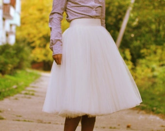 Tulle Tutu Skirt Elastic Waist choose color