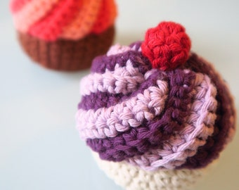Crochet food - muffin