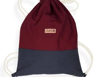 Gym Bag red/grey