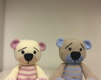 Teddy Bear hand crochet