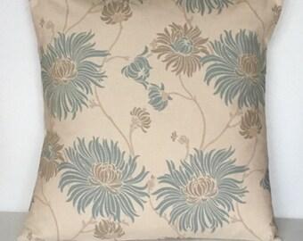 "1 x 16"" (40cm x 40cm)Laura Ashley Kimono Duck Egg Cushion Cover"